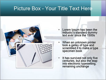 Office desk PowerPoint Template - Slide 20