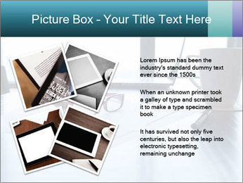 Office desk PowerPoint Template - Slide 23
