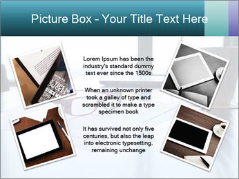 Office desk PowerPoint Template - Slide 24