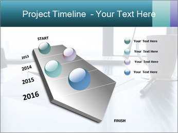Office desk PowerPoint Template - Slide 26