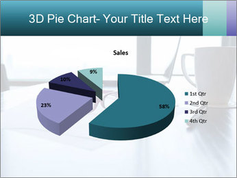 Office desk PowerPoint Template - Slide 35