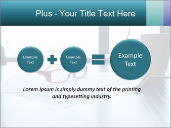Office desk PowerPoint Template - Slide 75