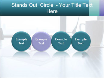 Office desk PowerPoint Template - Slide 76