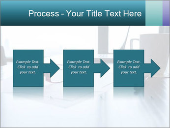 Office desk PowerPoint Template - Slide 88
