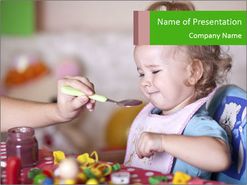 The child PowerPoint Template