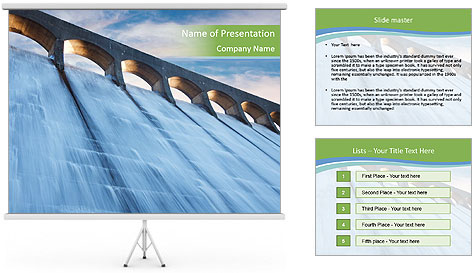 Reservoir PowerPoint Template