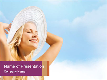 Fashion and lifestyle concept PowerPoint Templates