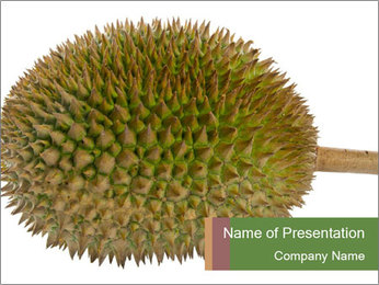 Durian PowerPoint Templates - Slide 1