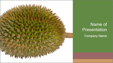 Durian PowerPoint Template