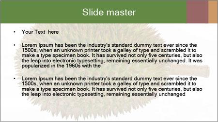 Durian PowerPoint Template - Slide 2