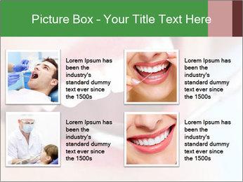 Beautiful teeth PowerPoint Templates - Slide 14