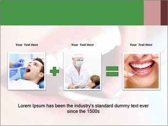 Beautiful teeth PowerPoint Template - Slide 22