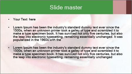 Beautiful teeth PowerPoint Template - Slide 2