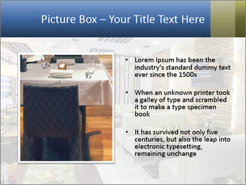 Modern restaurant PowerPoint Template - Slide 13
