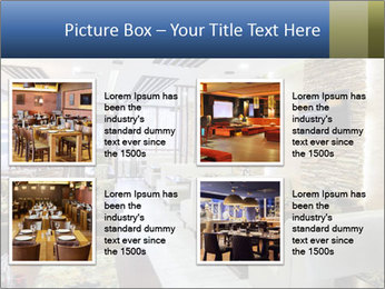 Modern restaurant PowerPoint Template - Slide 14