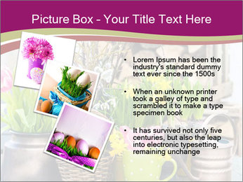 Easter decoration PowerPoint Template - Slide 17