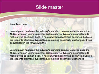 Easter decoration PowerPoint Template - Slide 2