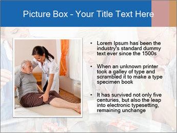 Senior couple playing Bingo PowerPoint Templates - Slide 13