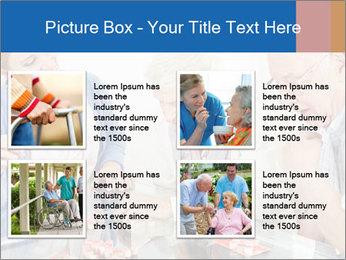 Senior couple playing Bingo PowerPoint Templates - Slide 14