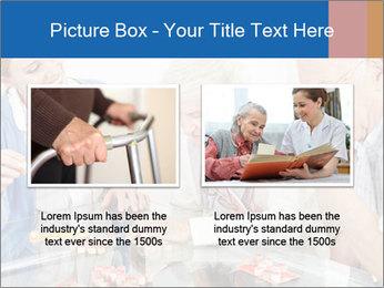 Senior couple playing Bingo PowerPoint Templates - Slide 18