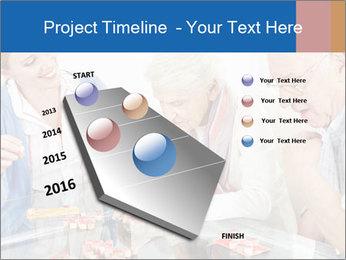 Senior couple playing Bingo PowerPoint Templates - Slide 26
