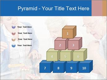 Senior couple playing Bingo PowerPoint Templates - Slide 31