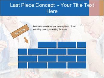 Senior couple playing Bingo PowerPoint Templates - Slide 46