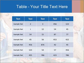 Senior couple playing Bingo PowerPoint Templates - Slide 55