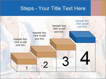 Senior couple playing Bingo PowerPoint Templates - Slide 64