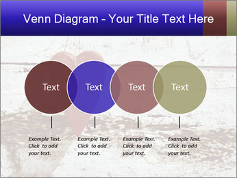 Rustic wooden red heart PowerPoint Template - Slide 32