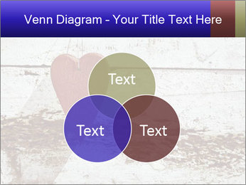 Rustic wooden red heart PowerPoint Template - Slide 33