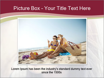 Affectionate young couple PowerPoint Template - Slide 15
