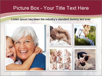 Affectionate young couple PowerPoint Template - Slide 19