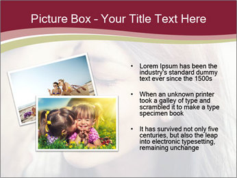 Affectionate young couple PowerPoint Template - Slide 20