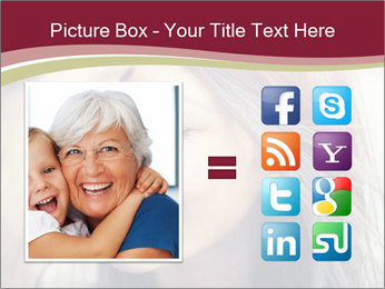 Affectionate young couple PowerPoint Template - Slide 21