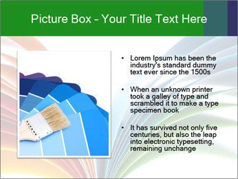 Colorful art paper PowerPoint Template - Slide 13