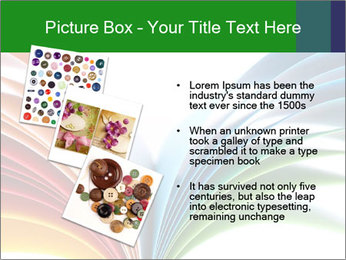 Colorful art paper PowerPoint Template - Slide 17