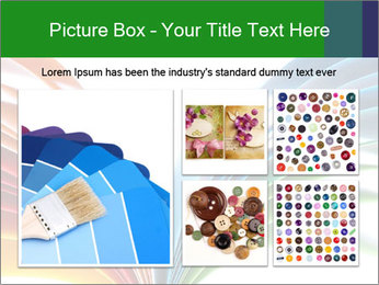 Colorful art paper PowerPoint Template - Slide 19