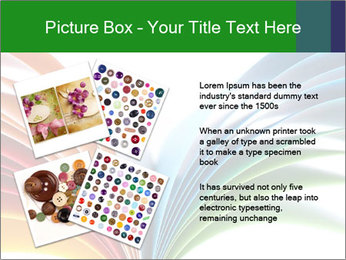 Colorful art paper PowerPoint Template - Slide 23