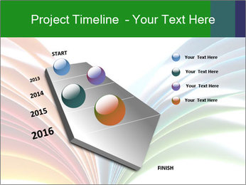 Colorful art paper PowerPoint Template - Slide 26