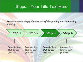 Colorful art paper PowerPoint Template - Slide 4