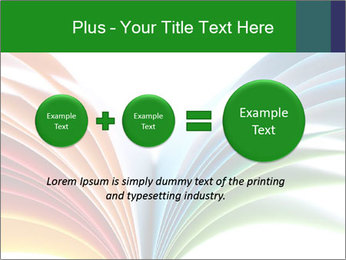 Colorful art paper PowerPoint Template - Slide 75