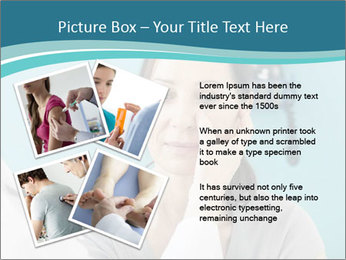 The woman PowerPoint Template - Slide 23