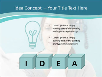 The woman PowerPoint Template - Slide 80
