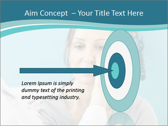 The woman PowerPoint Template - Slide 83