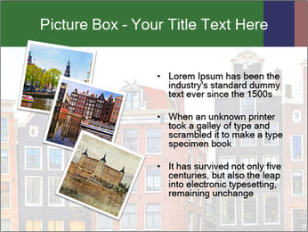 Amsterdam . traditional houses border PowerPoint Template - Slide 17
