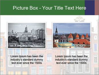 Amsterdam . traditional houses border PowerPoint Template - Slide 18