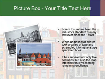 Amsterdam . traditional houses border PowerPoint Template - Slide 20