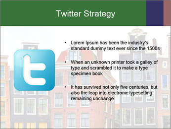 Amsterdam . traditional houses border PowerPoint Template - Slide 9