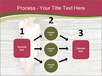 Beautiful girl standing PowerPoint Templates - Slide 92